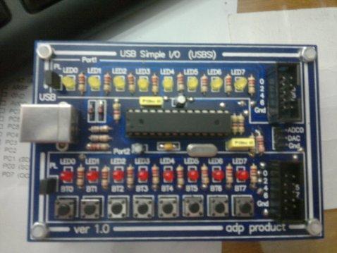 USB Simple IO